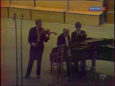 Oleg Kagan & Sviatoslav Richter play Beethoven Violin Sonata no. 5 - video 1975
