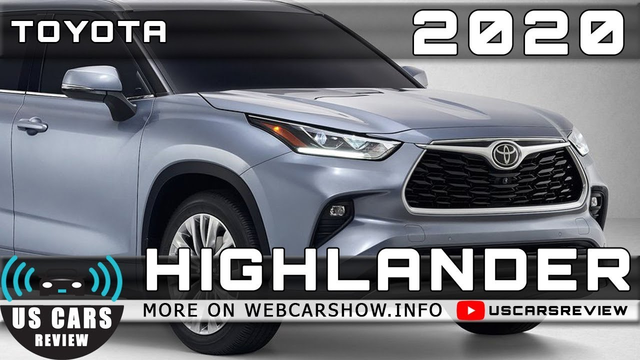 2020 Toyota Highlander Is The Best 7 Seater Suv For India Toyota Highlander India Youtube