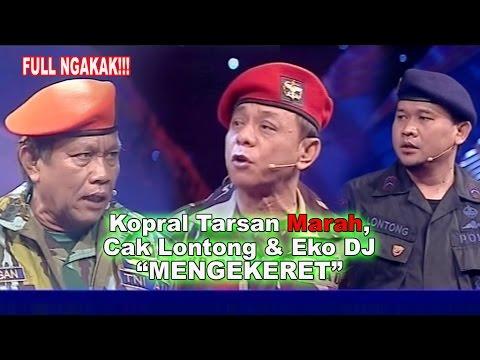 Hati-hati...Sersan Dikaploki Kopral!!! Ha ha ha...| Lawak Tarsan Dkk Kamera Ria 1 Oktober 2013