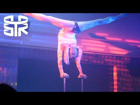 CIRCUS RESTAURANT - Acrobatics while you eat! Soho, London | Vlog 07