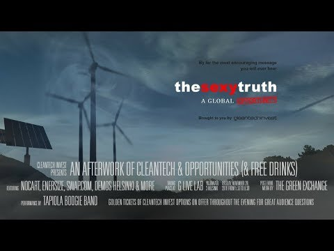 The Sexy Truth 2016 - Interview with Cleantech Invest CEO Bigge Lidgren