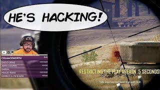 We Killed A PUBG Aimbot Hacker! (Playerunknown's Battlegrounds)