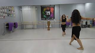 Natalia Kalinina- Belly dance technique lesson