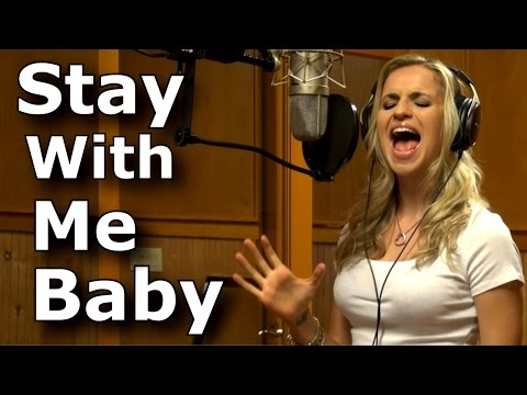 Gabriela Gunčíková - Gun - Stay With Me Baby - cover - Ruby Turner - Ken Tamplin Vocal Academy