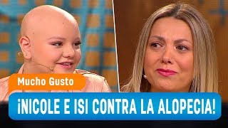 La lucha de Nicole Pérez y su hija Isidora contra la alopecia - Mucho Gusto 2019