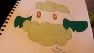 Cottonee-Pokemon Drawing