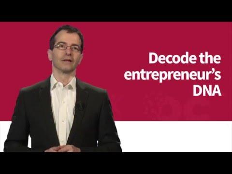 Decode the entrepreneur's DNA (Teaser)