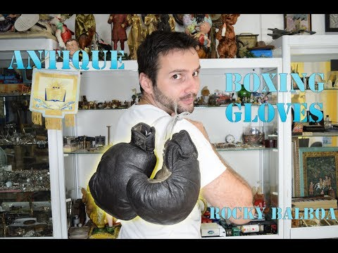 Antique Genuine Leather - Rocky Balboa BOXING GLOVES