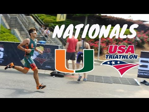 Competing at Nationals!! / USAT Collegiate Nationals 2018 / Tri/Du -Athlon