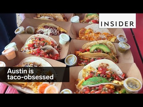 Austin, Texas is the most taco-obsessed city in America