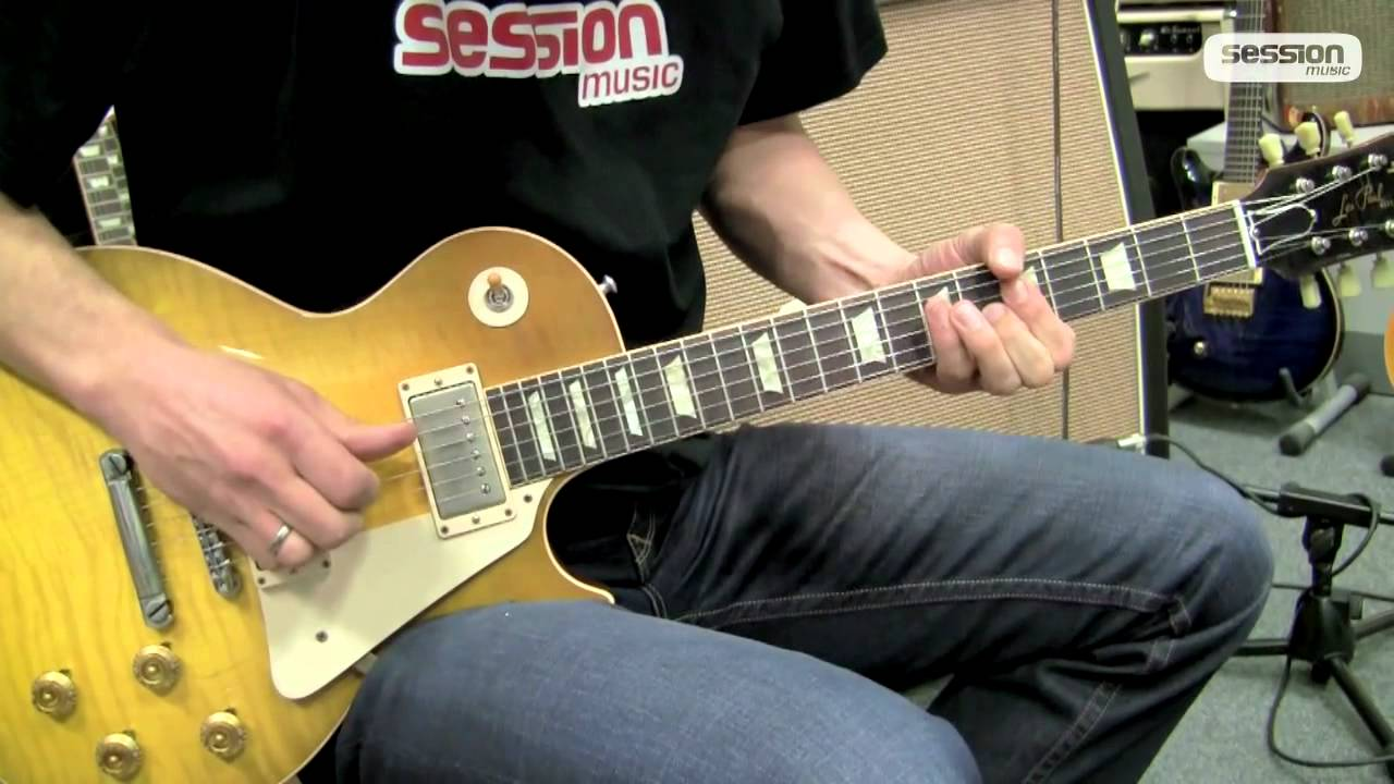 gibson les paul standard 1959 collectors choice 2 youtube. Black Bedroom Furniture Sets. Home Design Ideas