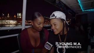 Power 105.1 Celebrity Yacht Ride- YOUNG M.A., SOMAYA REESE, EMEZ & MORE