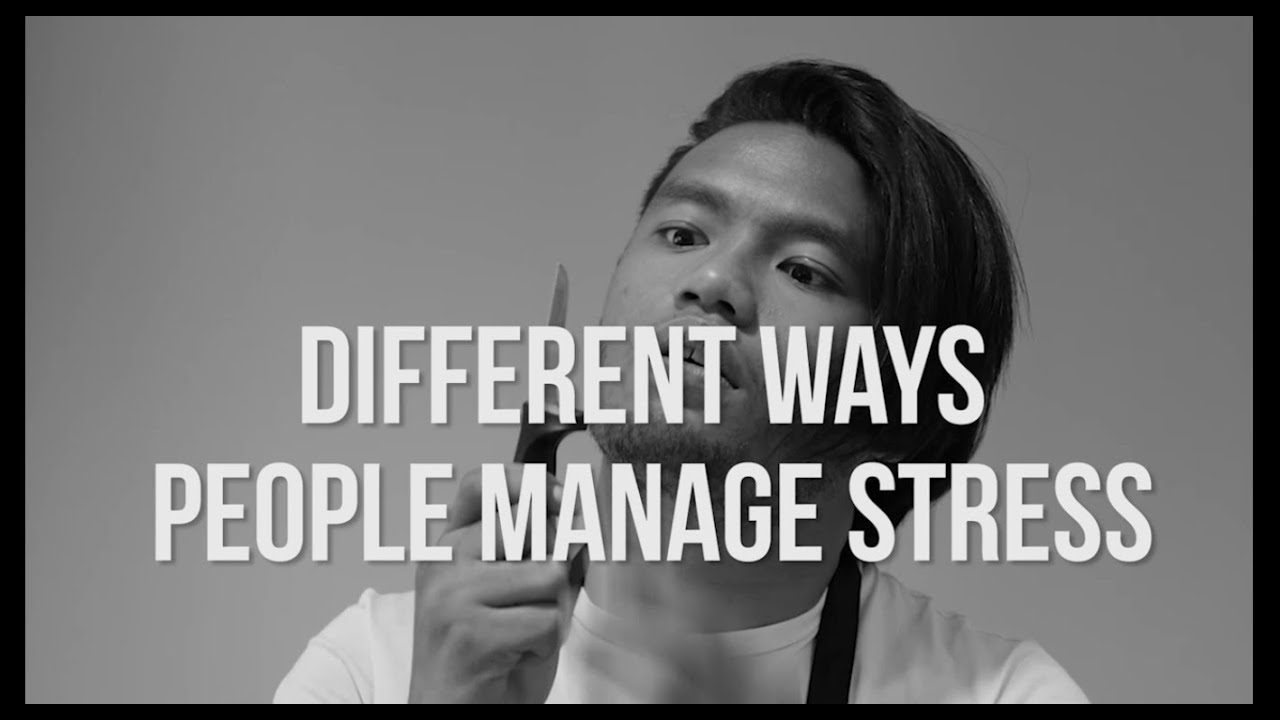 Different Ways People: Manage Stress