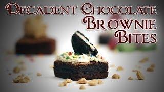 Chocolate Brownie Bites | Just Add Sugar