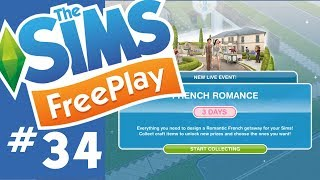 The Sims FreePlay - French Romance Event - Let's Play Part 34