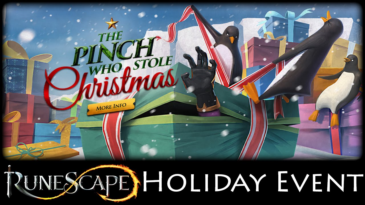 RuneScape 3: The Pinch who Stole Christmas - For Your Ice Only ...