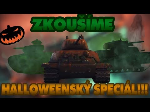 STRAŠIDELNÝ HALLOWEEN SPECIÁL VE WORLD OF TANKS !!! thumbnail