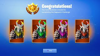 Color Changing MAX Ragnarok! *NEW* Season 5 Tier 100 Skin Customization! (Fortnite Season 5)