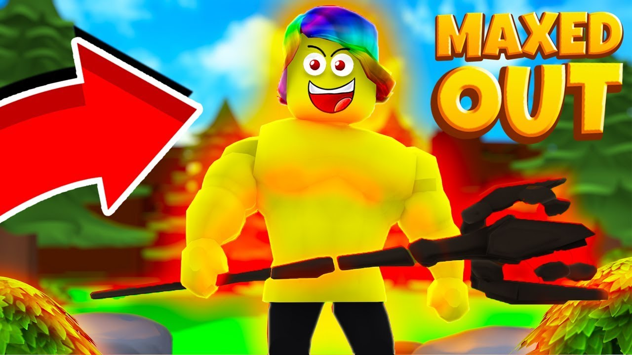 I Got my Character MAXED OUT and used the STRONGEST SPELL (Roblox Magic  Training Simulator)