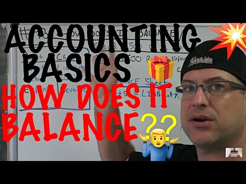 Accounting for Beginners #93 / How does the Journal Entry Balance ? / Assets = Liabilities + Equity