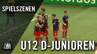 RB Leipzig - Hertha BSC (U12 D-Junioren, Halbfinale, AOK-Juniorenmasters 2017) - Spielszenen