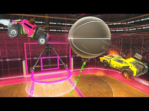 Thumbnail: LOW GRAVITY ROCKET LEAGUE RUMBLE HOOPS