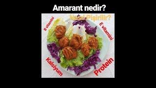 Amarant Nedir? Nasıl pişirilir? (Veganoteacher içerir)
