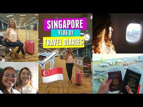 SINGAPORE TRAVEL DIARIES   CEBU TO SINGAPORE! (Day 1, Arrival)