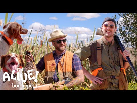 Brad Goes Pheasant Hunting | It's Alive | Bon Apptit