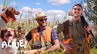 Brad Goes Pheasant Hunting | It's Alive | Bon Appétit