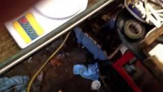 Fueling problem due to fuel soaked canister or dirty air filter. Se...
