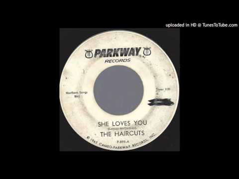 The Haircuts - She Loves You - 1964 Beatles Cover Band on DJ Parkway label