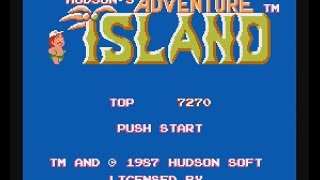 Adventure Island Game NES All Complete stages