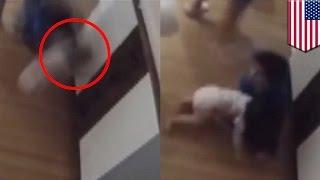 เด็กชายช่วยชีวิตน้องทารก ร่วงจากโต๊ะเปลี่ยนผ้าอ้อม