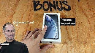 iphone XR : Primeras Impresiones...   Iphone XS Lite?, Nah!. México!