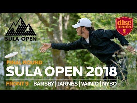 Sula Open 2018 Final Round, Front 9 (Barsby, Jarnes, Vainio, Nybo)