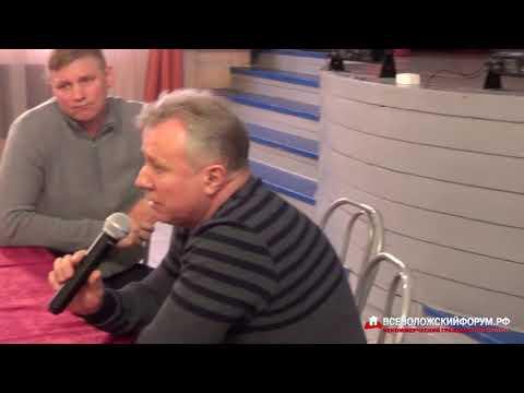 2019-02-10 Публичные слушания в Щеглово по вопросу присоединения Всеволожску