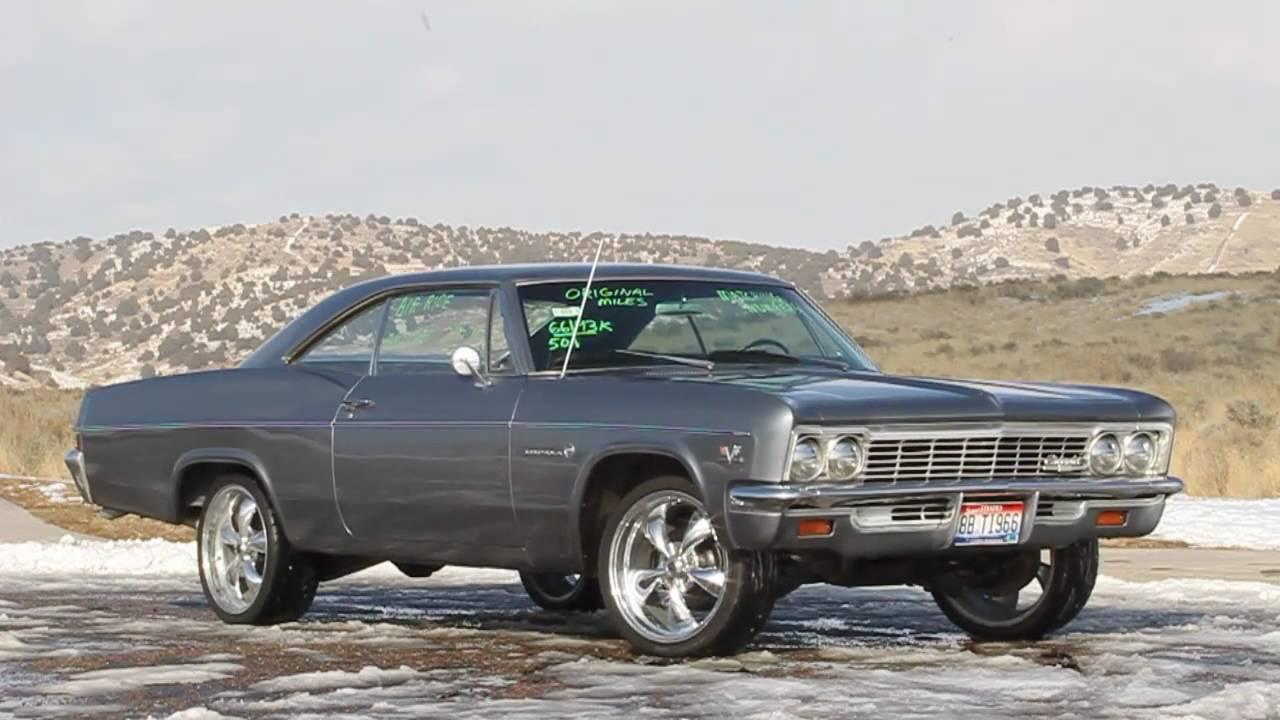 1966 Chevrolet Impala for Auction  YouTube