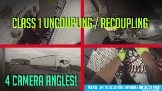 Class 1 Uncouple & Re-couple to DVSA Test conditions.