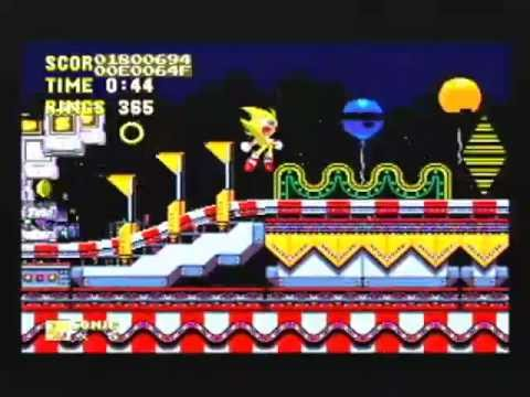 Sonic The Hedgehog 3 Level Select Cheat Youtube
