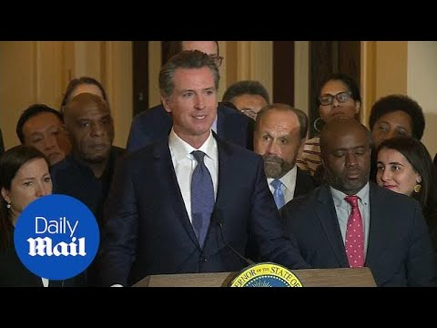California governor signs executive order stopping death penalty