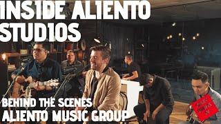 En estudios Aliento con  Edward Rivera y Eunice Rodríguez.