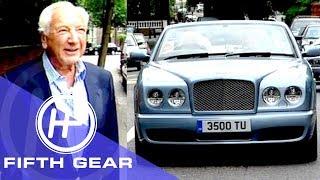 Fifth Gear Bentley Azure Review With Michael Winner смотреть