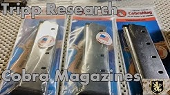 Tripp Research 1911 Cobra Magazines Review