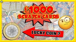 I Bought £1000 Worth of SCRATCH CARDS & HERE IS WHAT HAPPENED! 😱