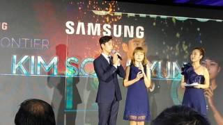 Video K-Drama Star KIM Soo Hyun in Manila for Samsung QLED TV launch download MP3, 3GP, MP4, WEBM, AVI, FLV Juli 2018