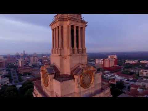 Higher Education -  Sunrise Over The University of Texas at Austin