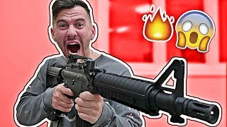Impossible paintball trick shots challenge!!