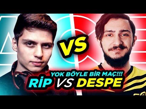 BERK RIP TEPE VS DESPE FACEIT 10 LEVEL MAÇ! BÜYÜK KAPIŞMA