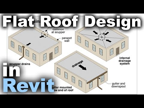 Flat Roofs In Revit Tutorial